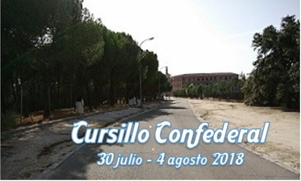 CURSILLO CONFEDERAL 2018