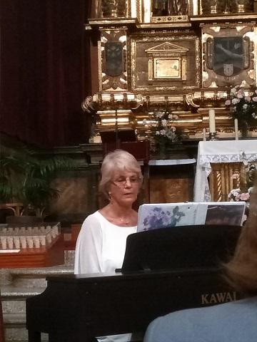 "Recital ""La dama de azul"""